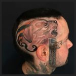 Tattoo on The Head