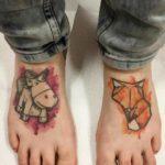 Tattoos on Feet