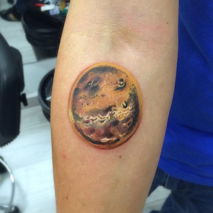 Venus Planet Tattoo by giostattoo