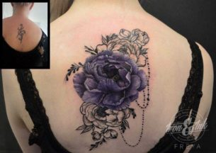 Cover-Up Tattoo Flowers