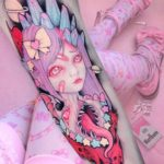 Galactic Parasite Tattoo Anime