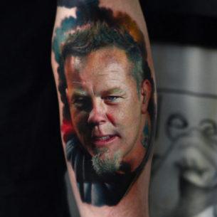 James Hetfield Tattoo