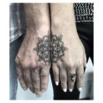 Matching Mandala Tattoo For Couple