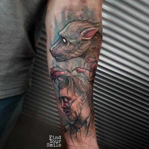 Remus Lupin Tattoo