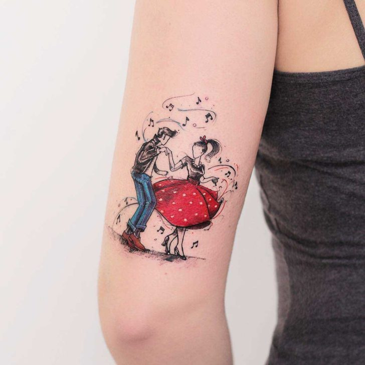 rockabilly tattoo design best tattoo ideas gallery