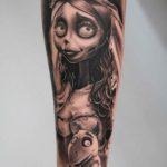 Tim Burton Tattoo Characters