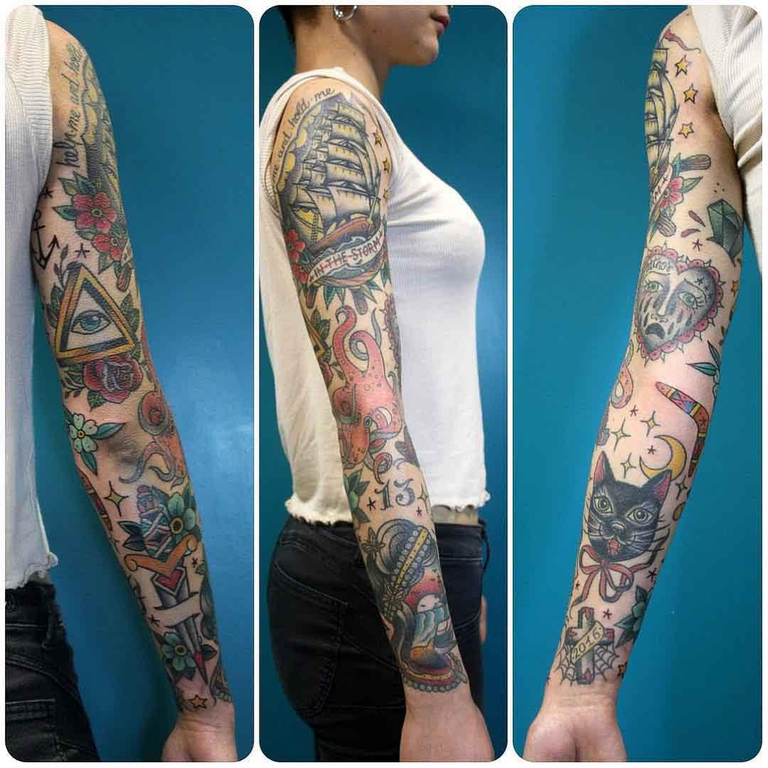 full sleeve traditional style