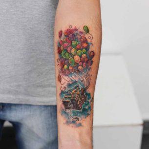 Arm Up Tattoo