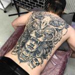 Back Full Tattoo