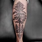 Linework Tattoo Tree