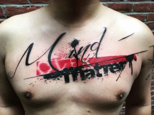 Mind Matter Tattoo Trash Polka