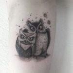 Owls Family Tattoo