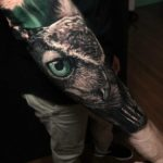 Realistic Owl Tattoos