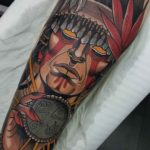 Shaman Tattoo Indian