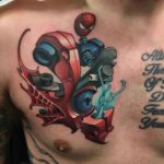 Spider Man Tattoo Gun