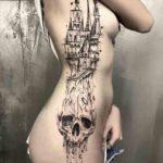 Girl's Side Tattoo