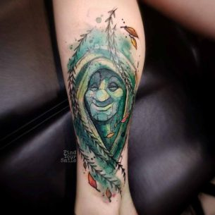 Grandmother Willow Tattoo