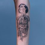 Inner Body Tattoo