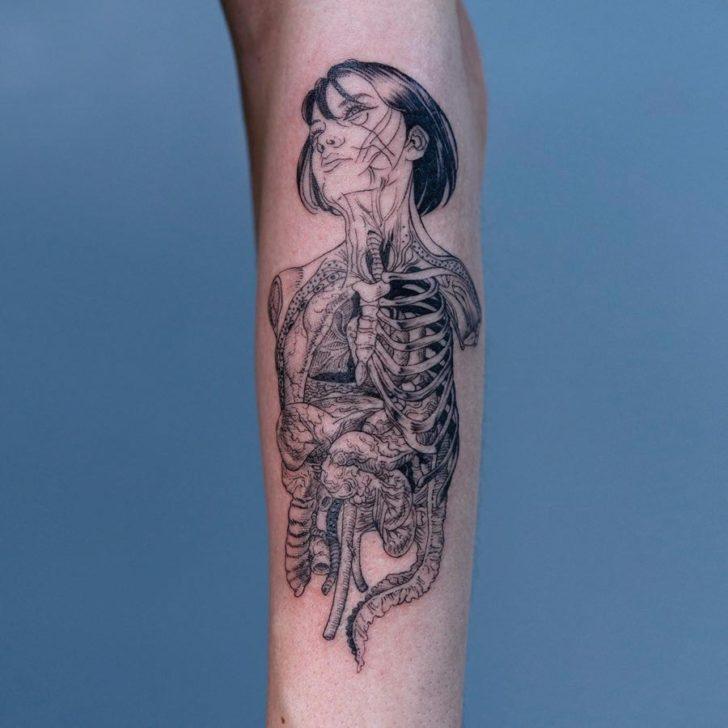 arm tattoo gusts
