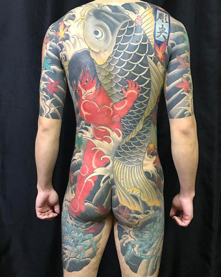 Big Kintaro Tattoo