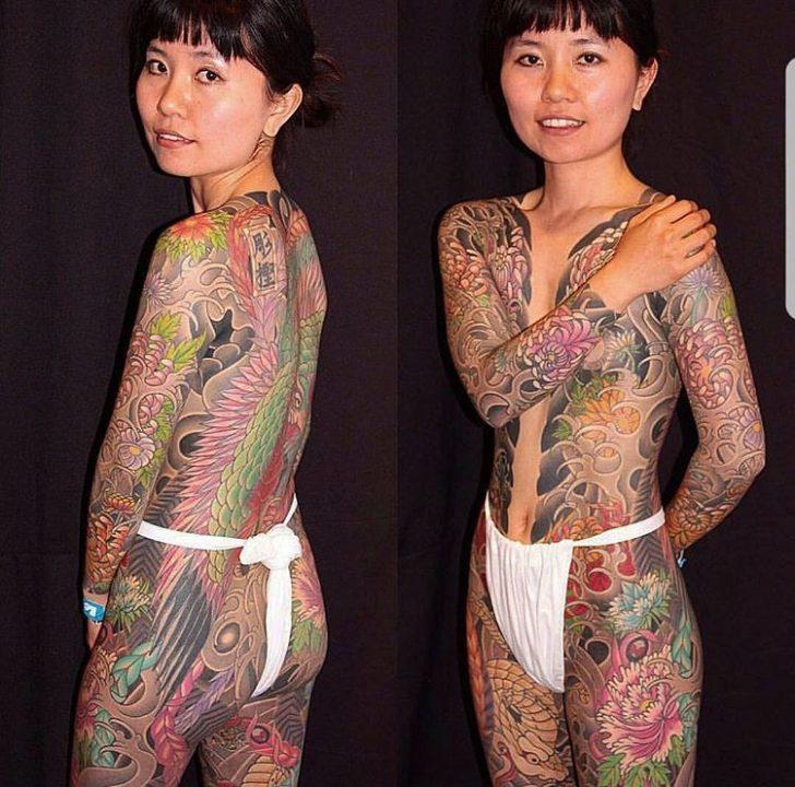 Irezumi Tattoo For Girl