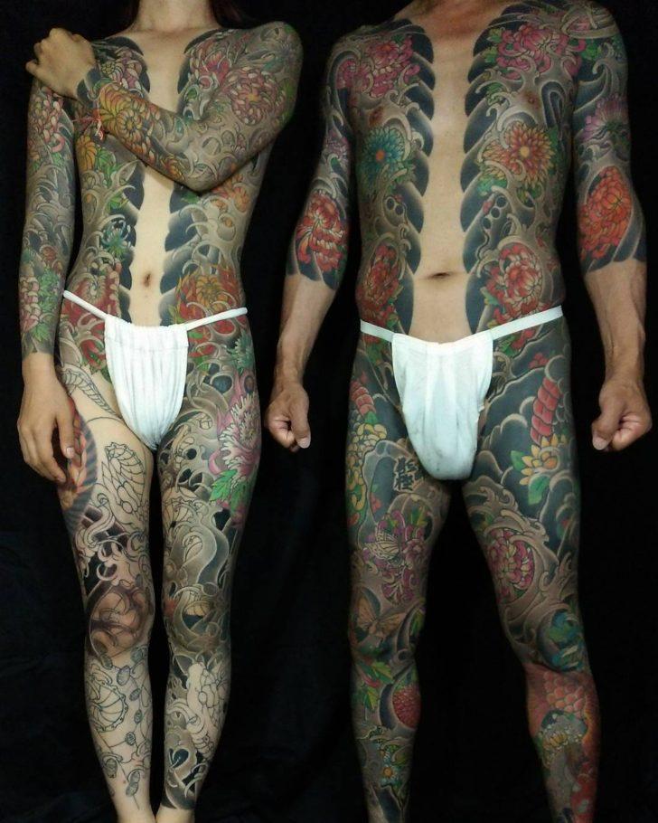 Full Torso Tattoo Irezumi