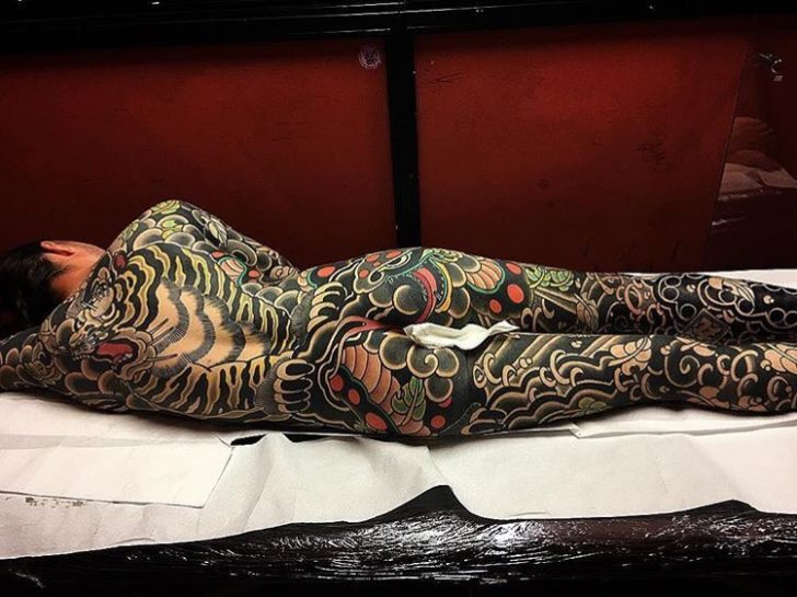 Tiger Irezumi Tattoo Yakuza