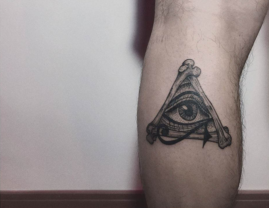 bone eye of providence tattoo
