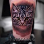 Cat Face Tattoo