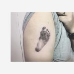 Foot Print Tattoo