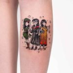 Girls Characters Tattoo