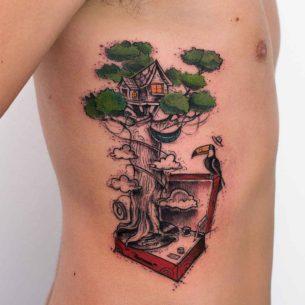 Imaginary Tattoo Tree