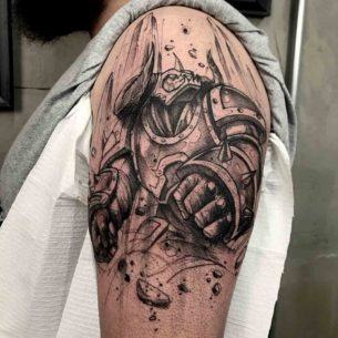 League of Legends Tattoo Alistar