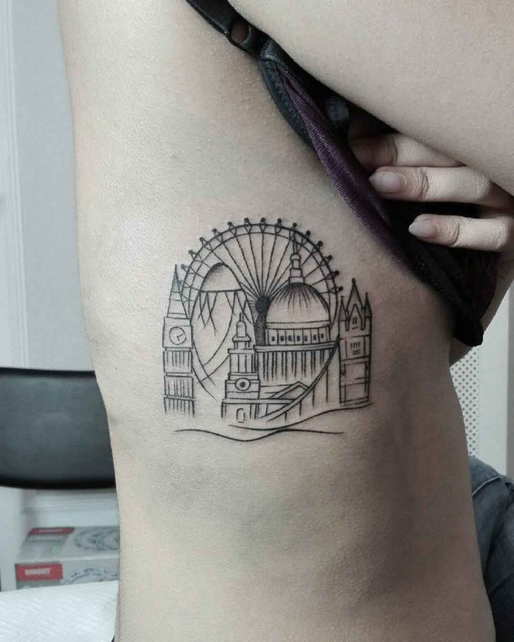 structures of london tattoo