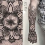 Mandala Tattoo Dotwork Sleeve
