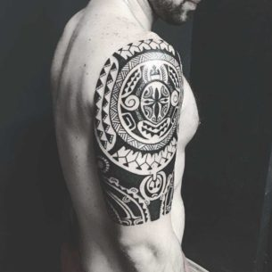 Maori Traditional Tattoo