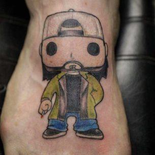 Silent Bob Tattoo
