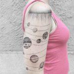 Solar System Tattoo Sleeve