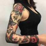 Traditional Sleeve Tattoo