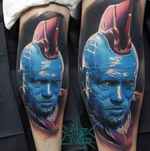 Yondu Tattoo Guardians of the Galaxy