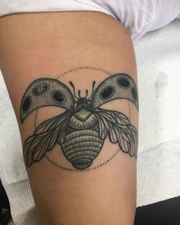 Simple Ladybug Tattoo