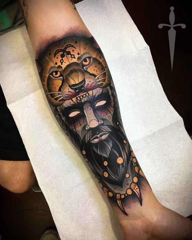 Cheetah Hide Tattoo Shaman