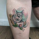 Cute Chinchilla Tattoo