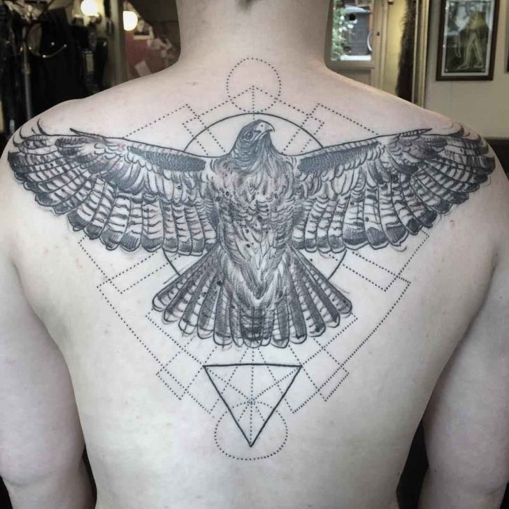 Eagle Back Tattoo Best Tattoo Ideas Gallery
