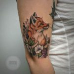 Fox Tattoo in Berries