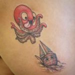Happy Kraken Tattoo