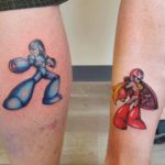 Megaman Tattoos for Brothers