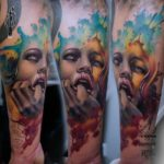 Passionate Portrait Tattoo