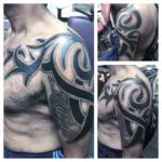 Cool Shoulder Tribal Tattoo