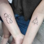 Small Tattoos for Mother and Daughter